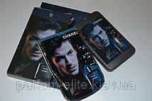 Чоловічий пробник духів в стильному чохлі Chanel Blue De Chanel Man 50ml