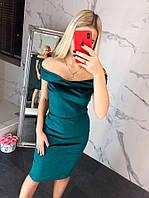Женское модное приталенное платье (5 цветов), фото 1