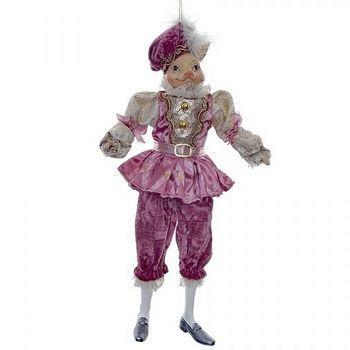 Декоративная фигура Поросенок 40см, цвет - розовый