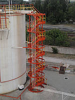 Резервуарные парки складов ГСМ - изготовление и монтаж с гарантией от 5 лет В резервуарных парках складов ГСМ