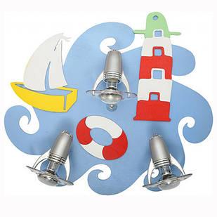 Спот для дитячої кімнати Sailor III plafon 3668 Nowodvorski