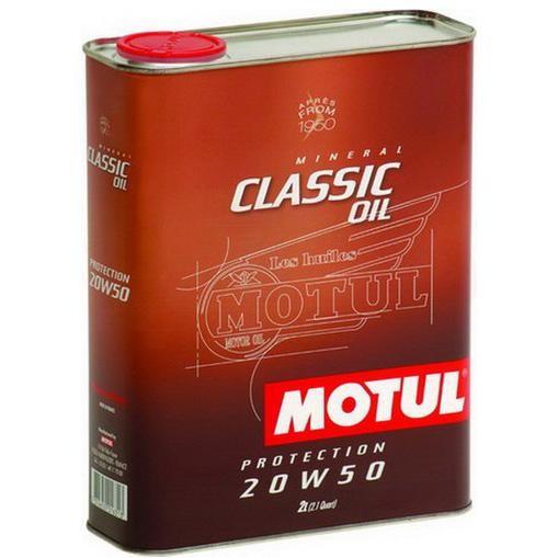 MOTUL Classic Oil 20W-50 2л.