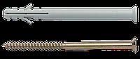 Дюбель APR с шурупом 8х100мм, нейлон, сталь (уп 50шт)
