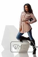 Рубашка женская с поясом замш Испания
