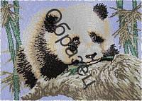 Схема для вышивки бисером «Панда»