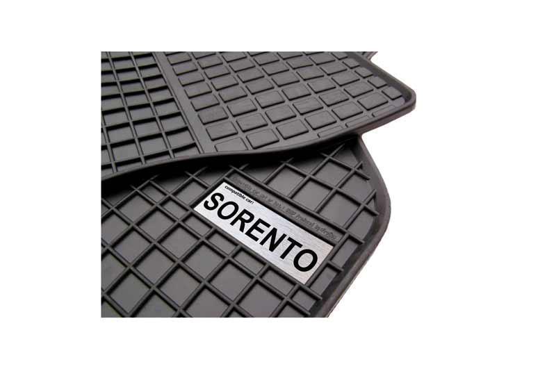 Резиновый коврик KIA SORENTO 2015