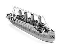 Конструктор 3D металлический  Корабль Титаник Сборная модель