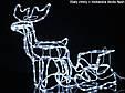 """Новогодняя скульптура """"Олень"""" Длина набора 140 см, фото 4"""