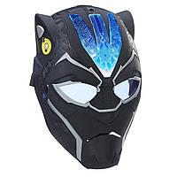 Интерактивная маска Черная Пантера Мстители со светом и звуком  Marvel Black Panther Vibranium Power FX Mask