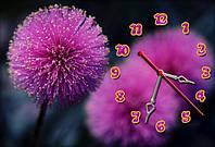 Часы-картина 30х45 см красивый подарок на 8 Марта