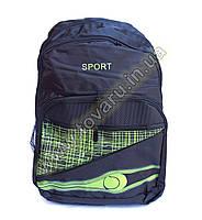 Рюкзак спортивный - 8998 - Черно-салатовый