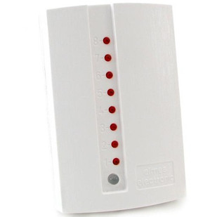 8-канальний супергетеродинний приймач для бездротових датчиків і брелків Elmes CH8HR-het