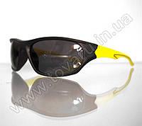 Очки мужские солнцезащитные спортивные - Черно-желтые - 2036, фото 1