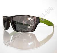 Очки мужские солнцезащитные спортивные - Черно-салатовые - T81, фото 1