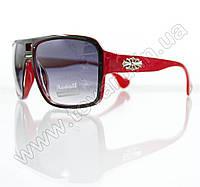Очки унисекс солнцезащитные - Черно-красные - 295, фото 1