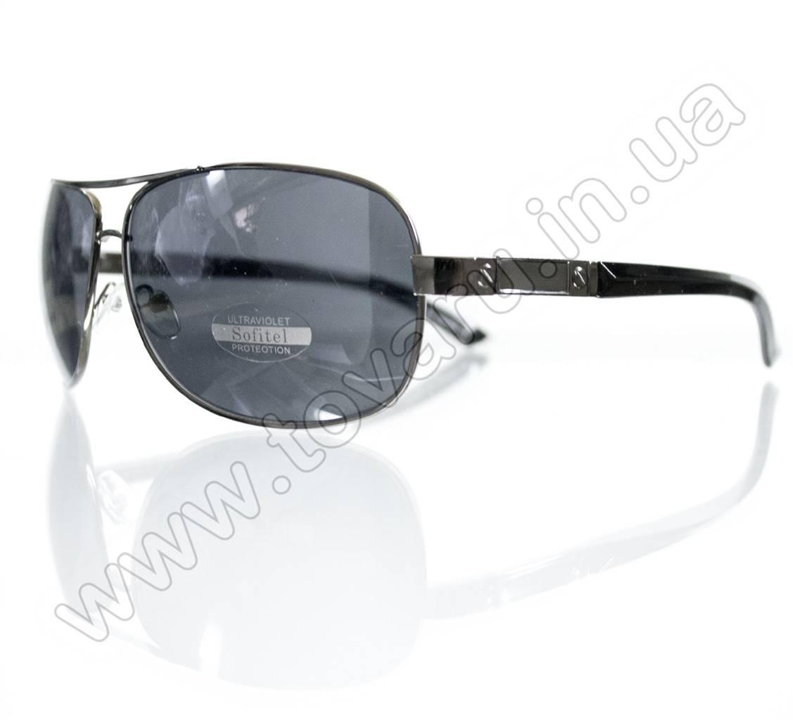 Очки мужские солнцезащитные - Черные - 1314