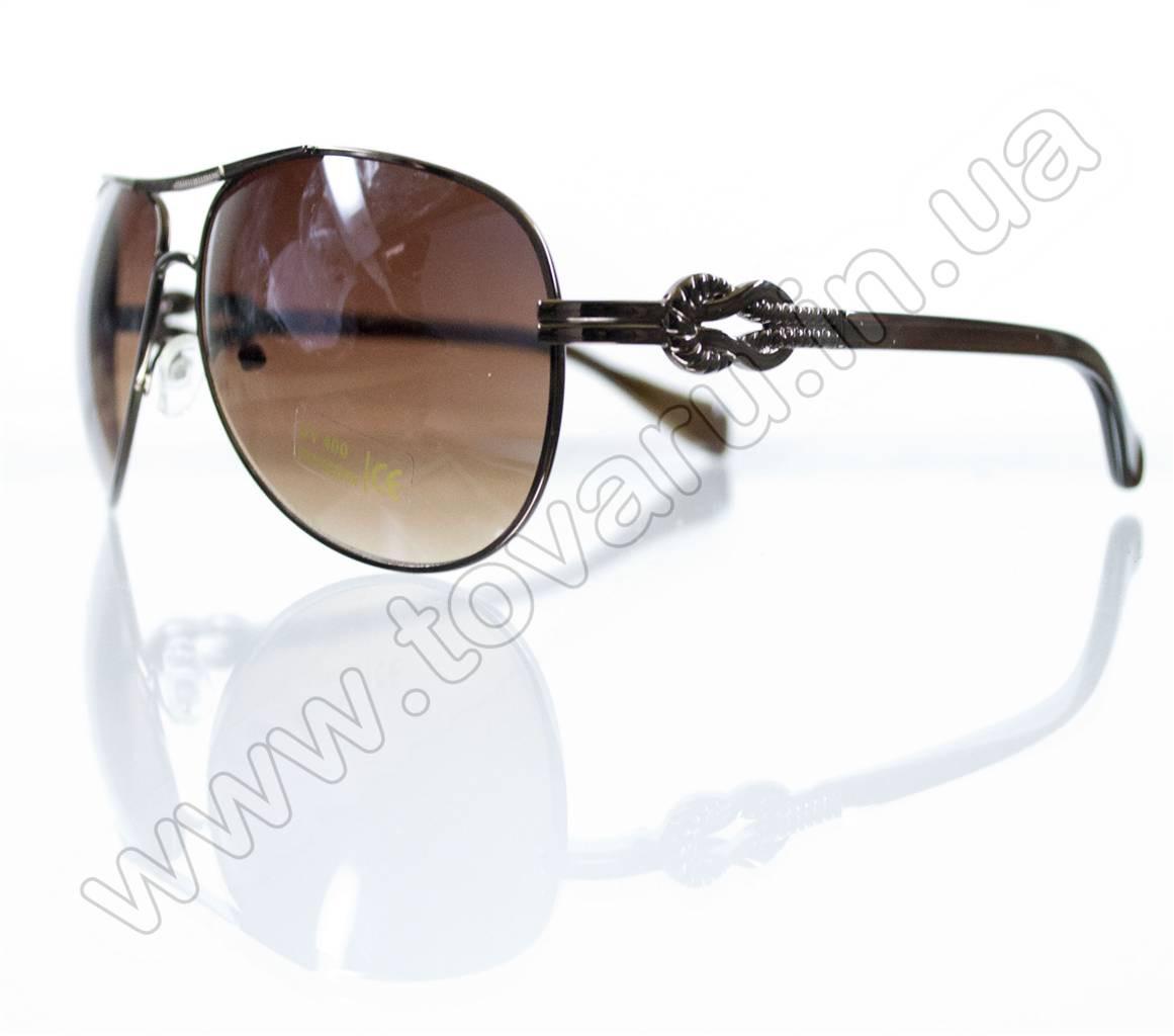 Очки унисекс солнцезащитные - Коричневые - 3032, фото 1