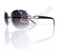 Очки женские солнцезащитные - Черно-белые - 3052, фото 1
