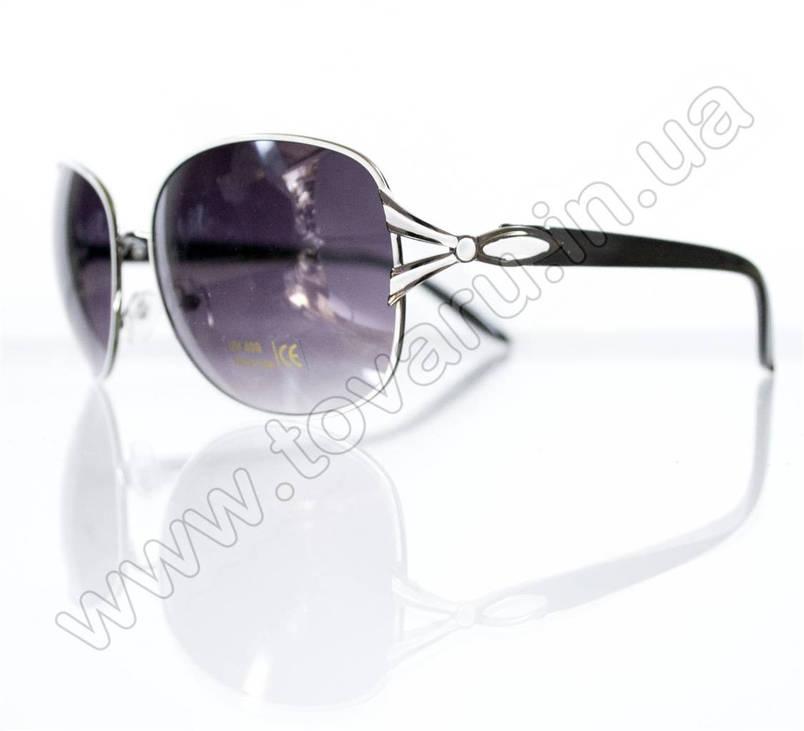 Очки женские солнцезащитные - Черно-белые - 3052, фото 2