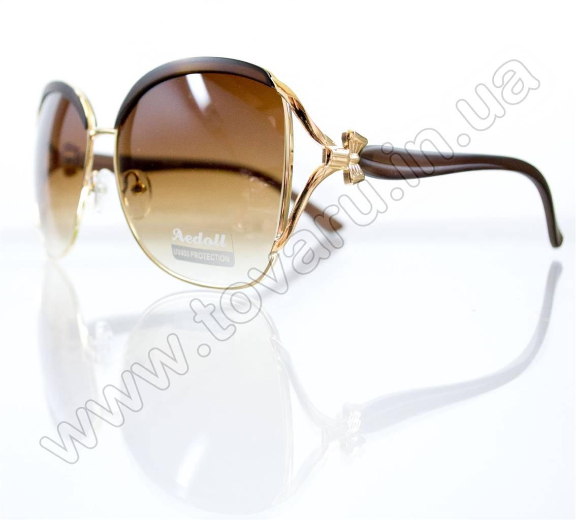 Очки женские солнцезащитные - Коричневые - 5601