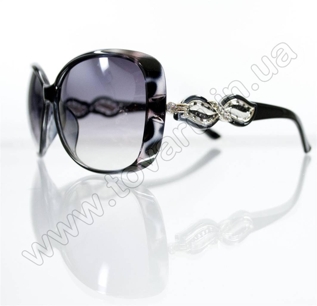 Очки женские солнцезащитные - Черные - 5941