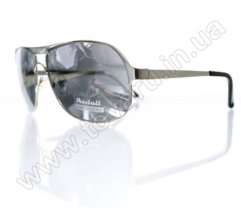 Очки мужские солнцезащитные - Зеркальные - 8749, фото 2