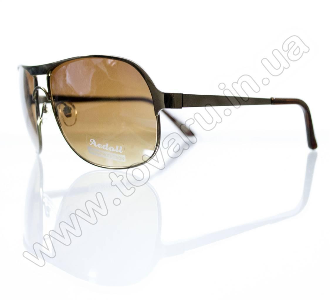 Окуляри чоловічі сонцезахисні - Коричневі - 8749
