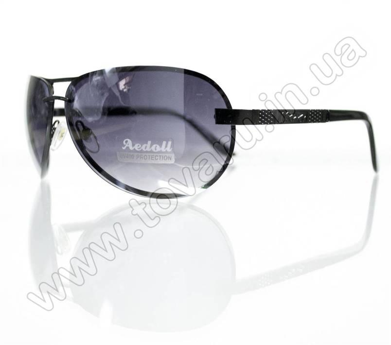 Очки унисекс солнцезащитные - Черные - 09006, фото 2