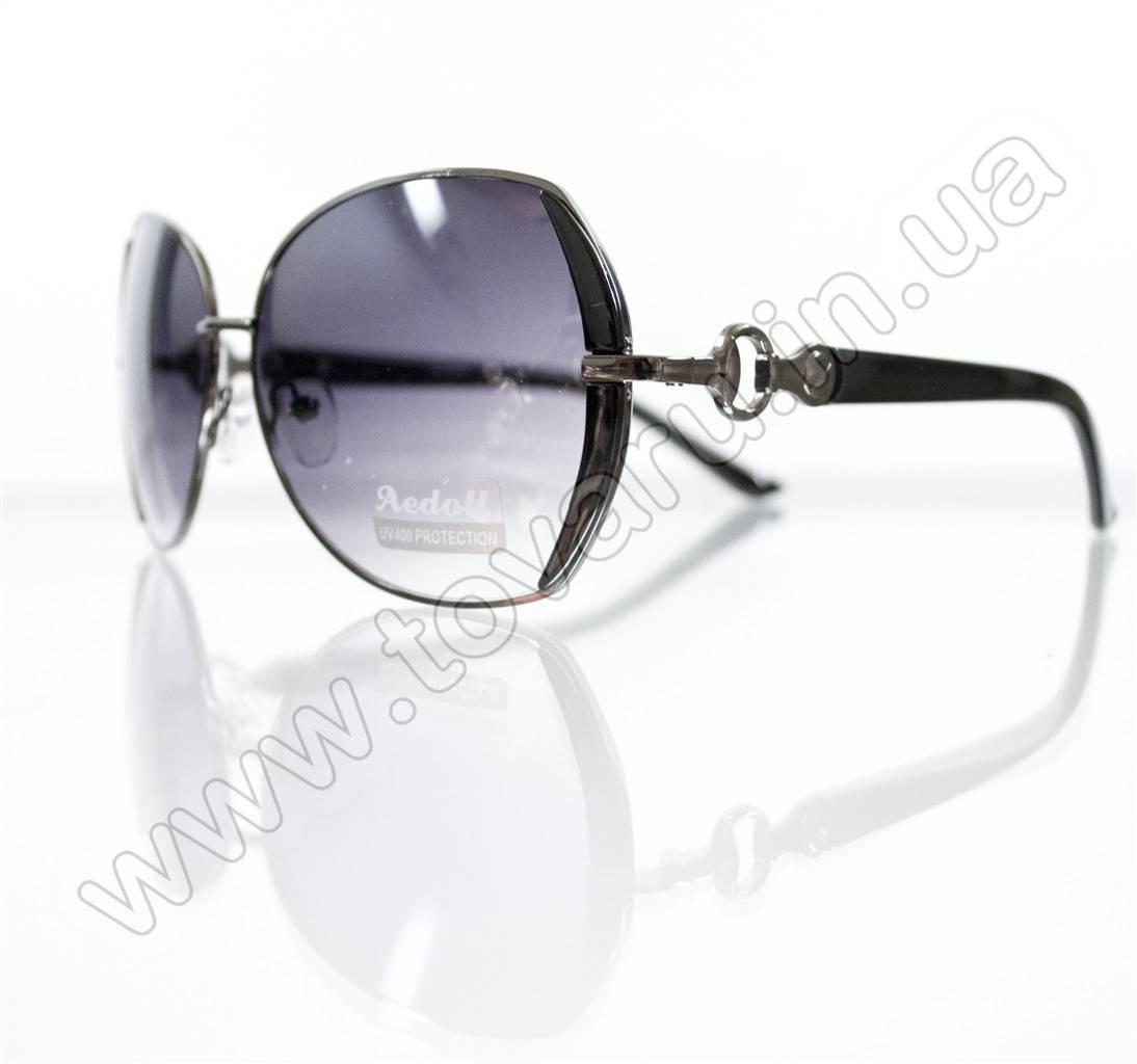 Очки женские солнцезащитные - Черные - S522