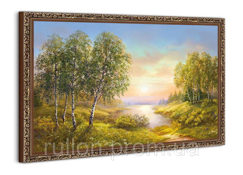 """Картина YS-Art BA004B """"Закат в заливе"""" 50x70"""
