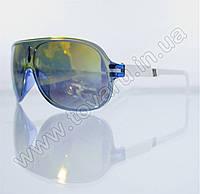 Очки унисекс солнцезащитные - Сине-белые (зеркальные) - B-59, фото 1