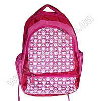 1067 - Рюкзак сердечки - Красно-розовый