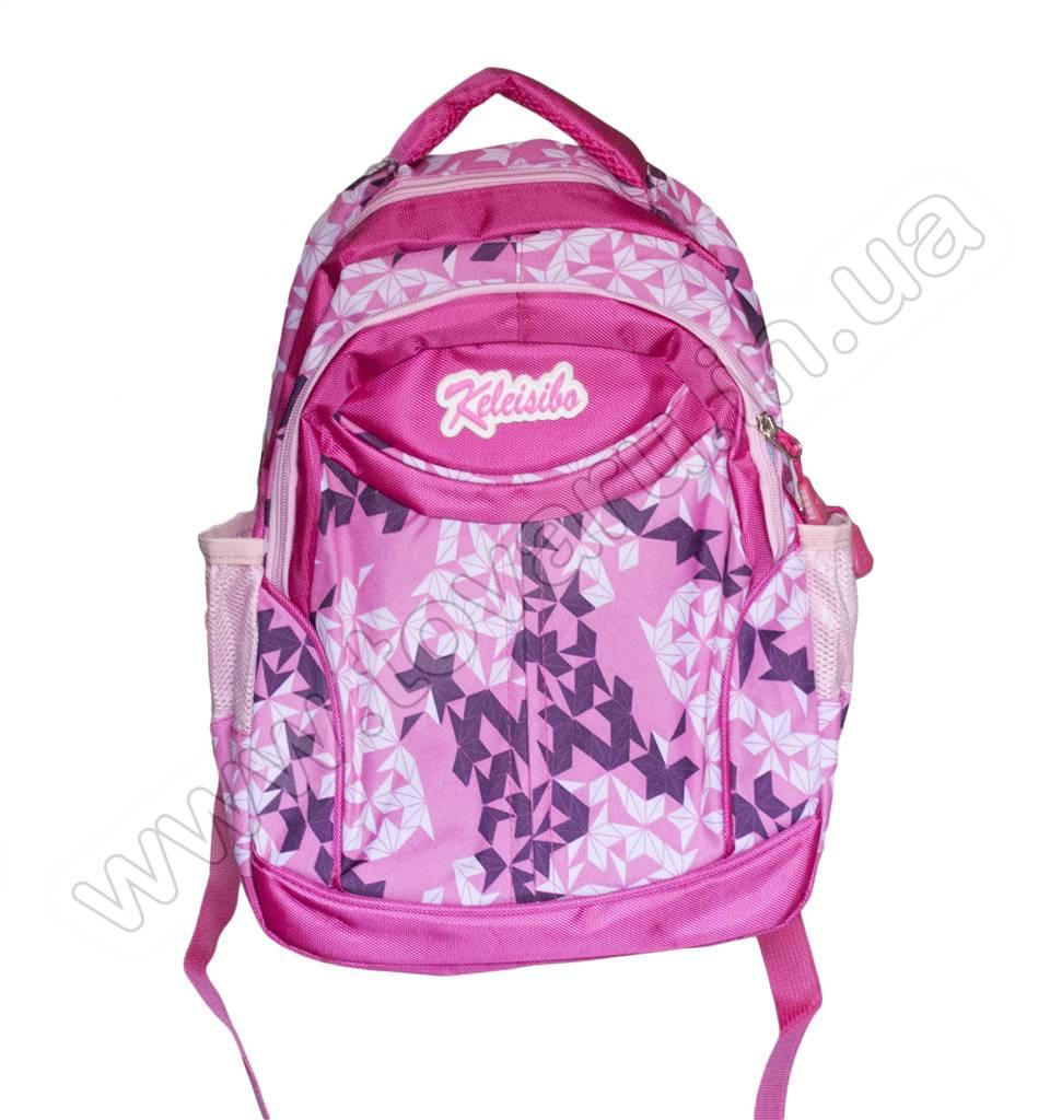 1063 - Рюкзак абстракция - Розовый