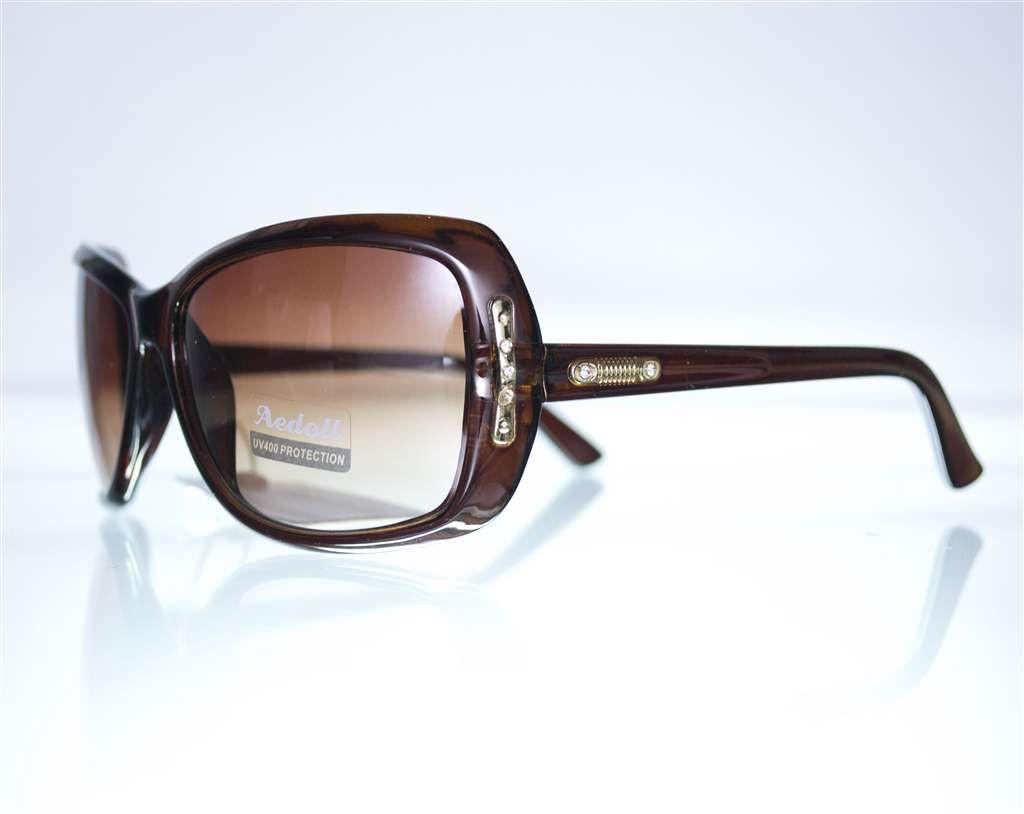 Очки женские солнцезащитные - Коричневые - 575