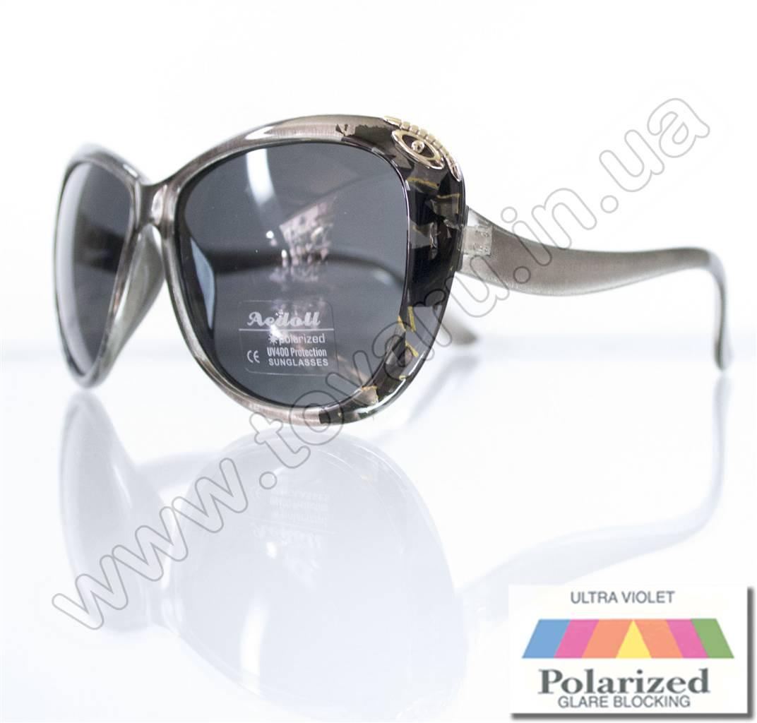 Очки женские солнцезащитные поляризационные - Серые - P521