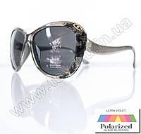 Очки женские солнцезащитные поляризационные - Серые - P521, фото 1