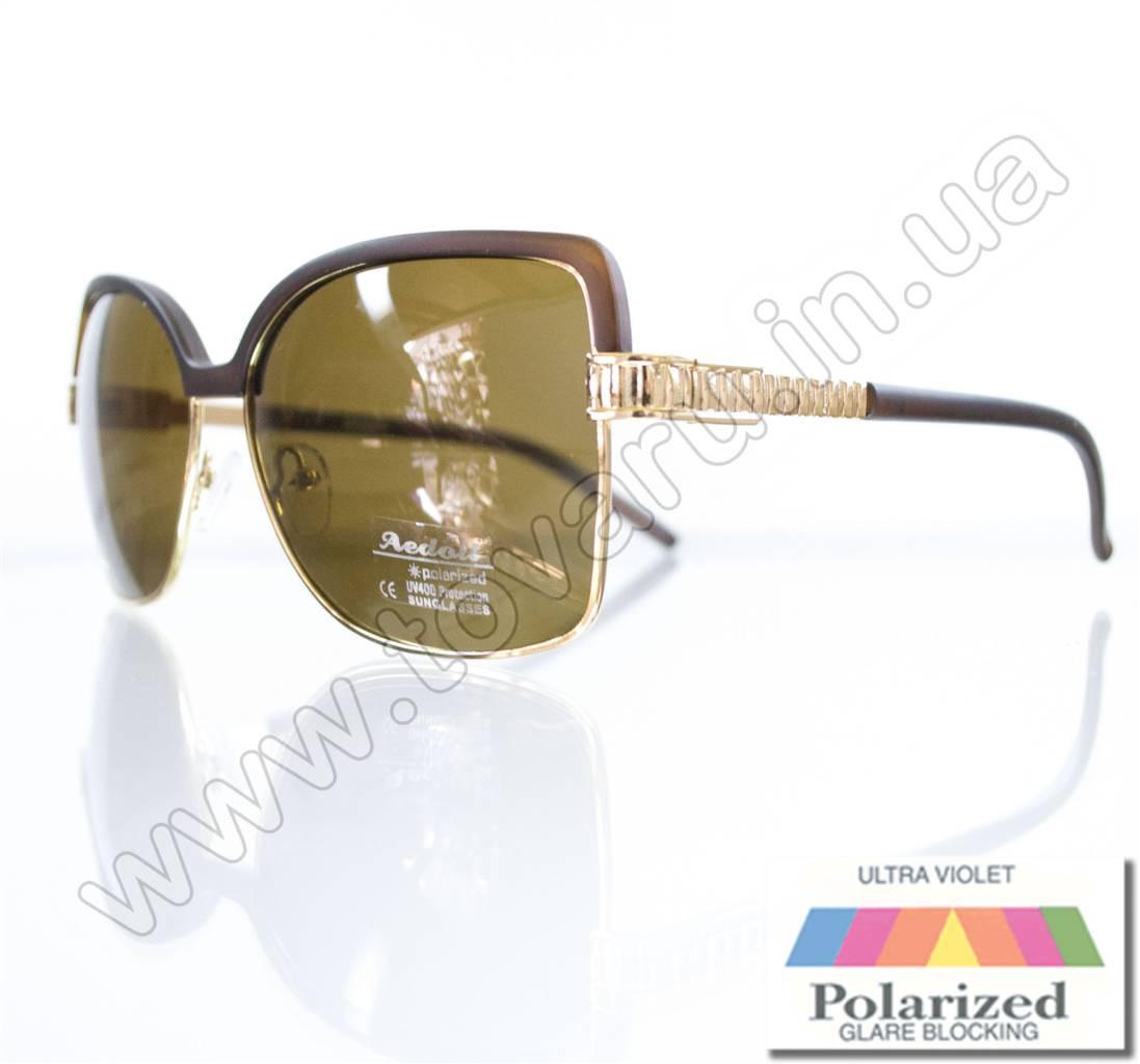 Очки женские солнцезащитные поляризационные - Коричневые - P5620
