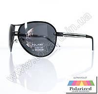 Очки унисекс солнцезащитные поляризационные - Черные - P09001, фото 1