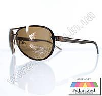 Очки унисекс солнцезащитные поляризационные - Коричневые - P08004, фото 1