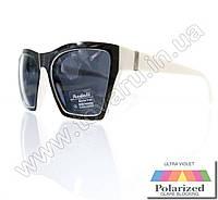 Очки женские солнцезащитные поляризационные - Черно-белые - P6613, фото 1