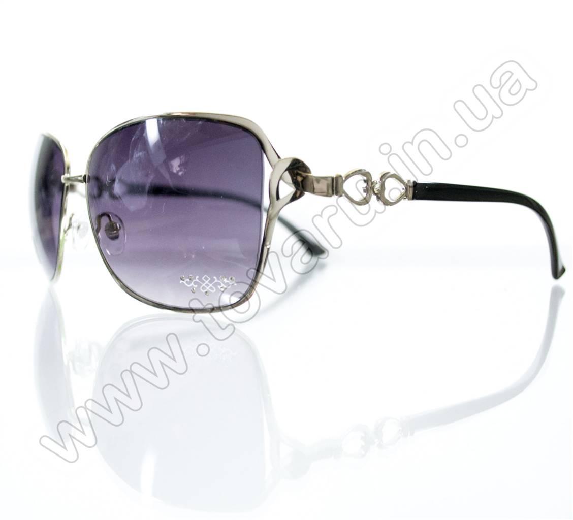 Очки женские солнцезащитные - Черные - S3313, фото 1