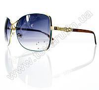 Очки женские солнцезащитные - Бирюзовые - S3305, фото 1