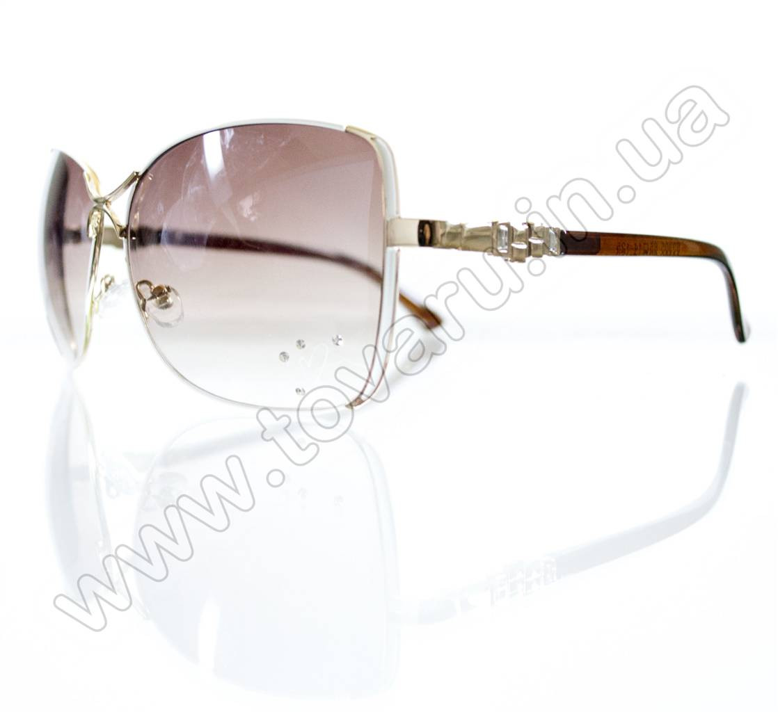 Очки женские солнцезащитные - Белые - S3305