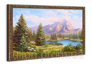 "Картина YS-Art BA005B ""Хвойный лес у гор"" 50x70"