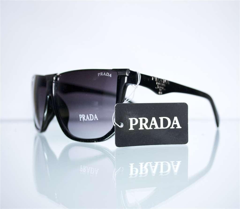Очки мужские Prada солнцезащитные - Черные - SPS67N