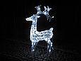 Новогодняя акриловая статуя олень Большой  RENIFER, Светящиеся новогодние олени 100 LED, фото 2