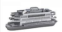 Конструктор 3D металлический Паром Стейтен-Айленд Корабль Сборная модель