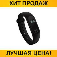 Фитнес браслет с трекером Xiaomi Mi Band 2 Black (копия)