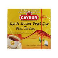 Чай турецкий черный в пакетиках Caykur 100шт