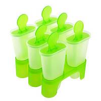 Формы для мороженого пластик 6шт/наб 10*9.5см